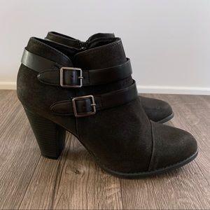 LC Lauren Conrad Farren Ankle Booties Boots